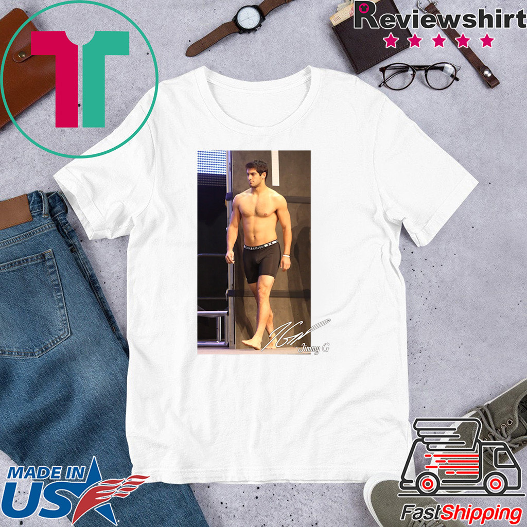 George Kittle Jimmy G Shirtless San Francisco 49ers T-Shirt