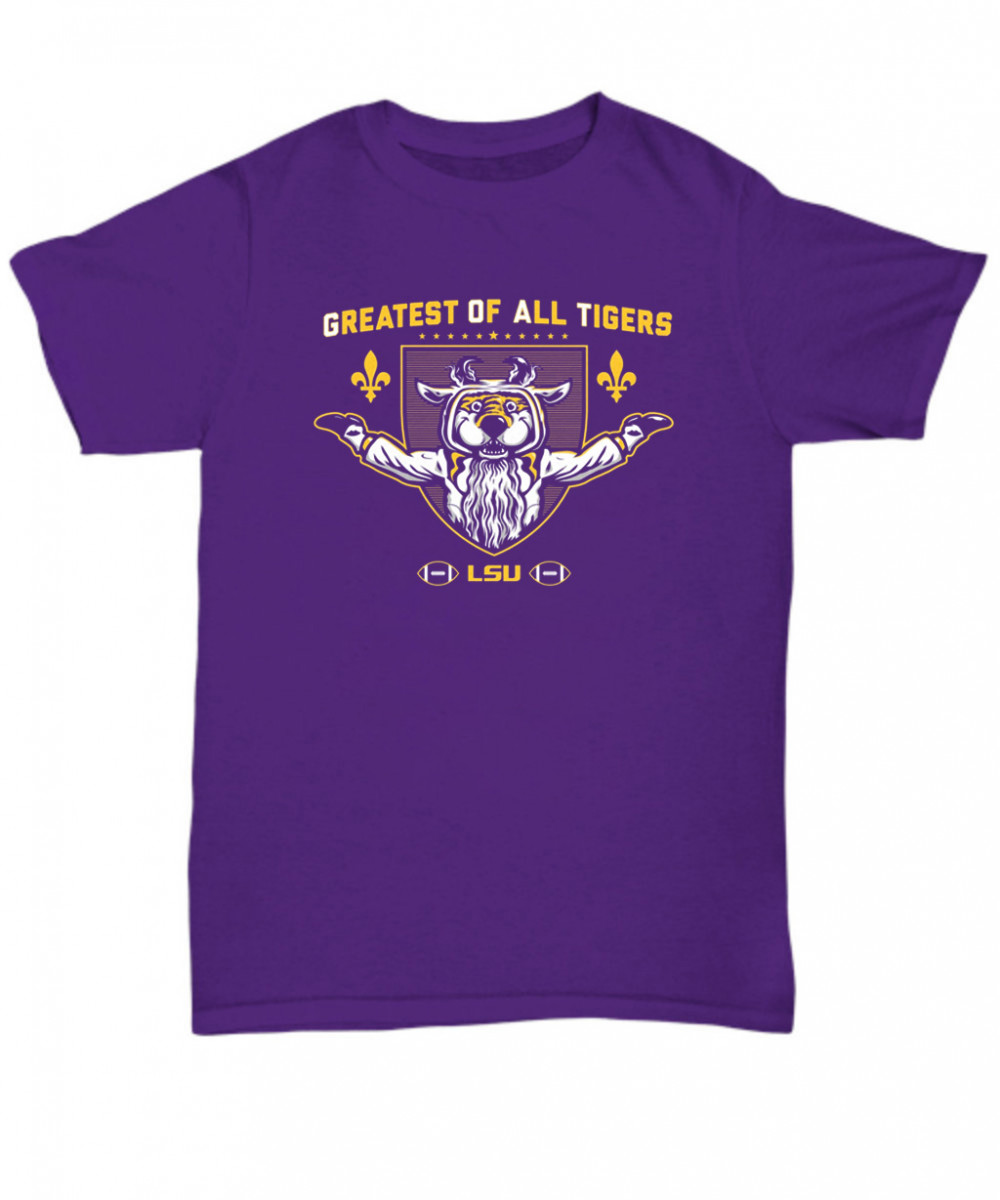 Greatest of All Tigers LSU Shirt