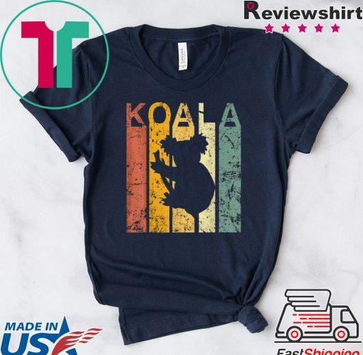 Koala vintage Australian bushfires shirt