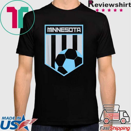 Minnesota Soccer Jersey Style Football Shirt