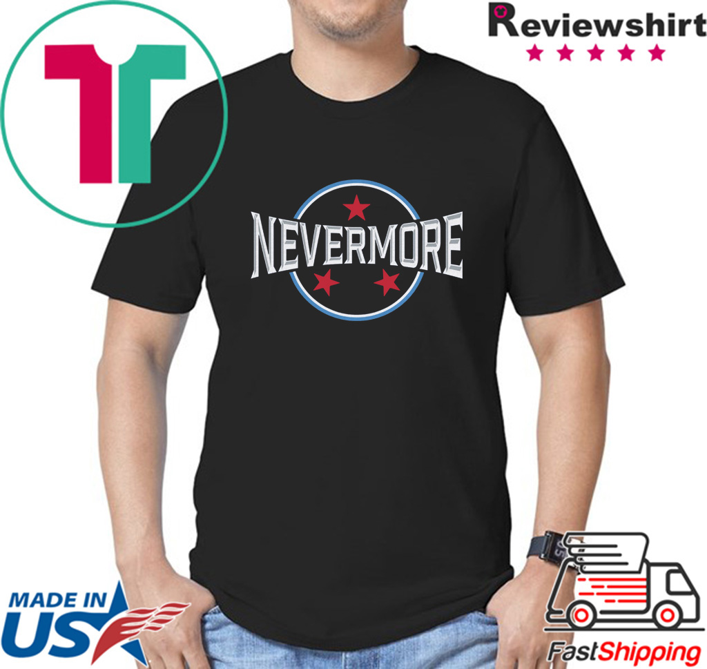 Nevermore Tennessee Football Shirt