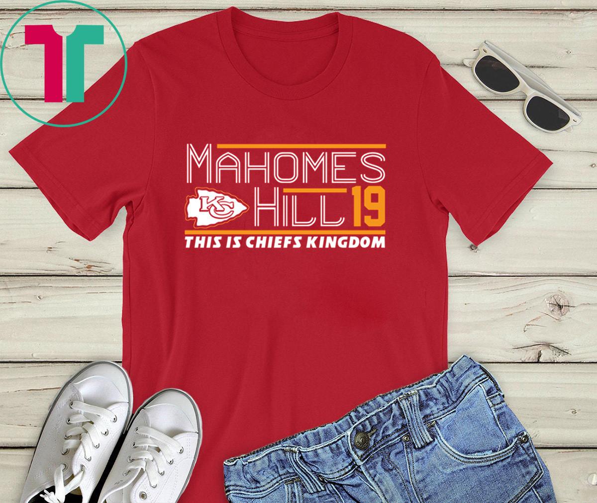 Patrick Mahomes Tyreek Hill 2020 T-Shirt KC Chiefs Pat Chiefs Kingdom