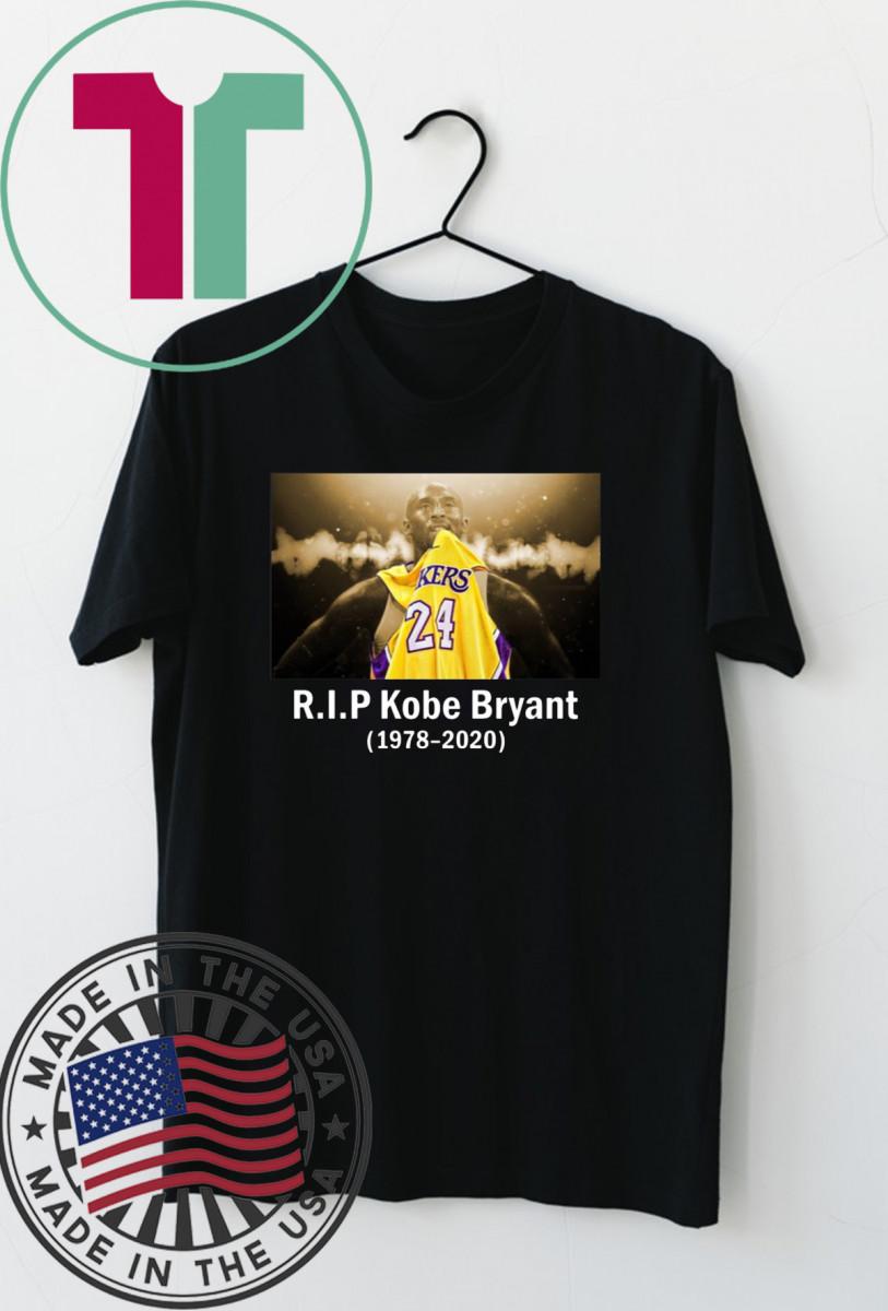 RIP Black Mamba Kobe Bryant Shirt