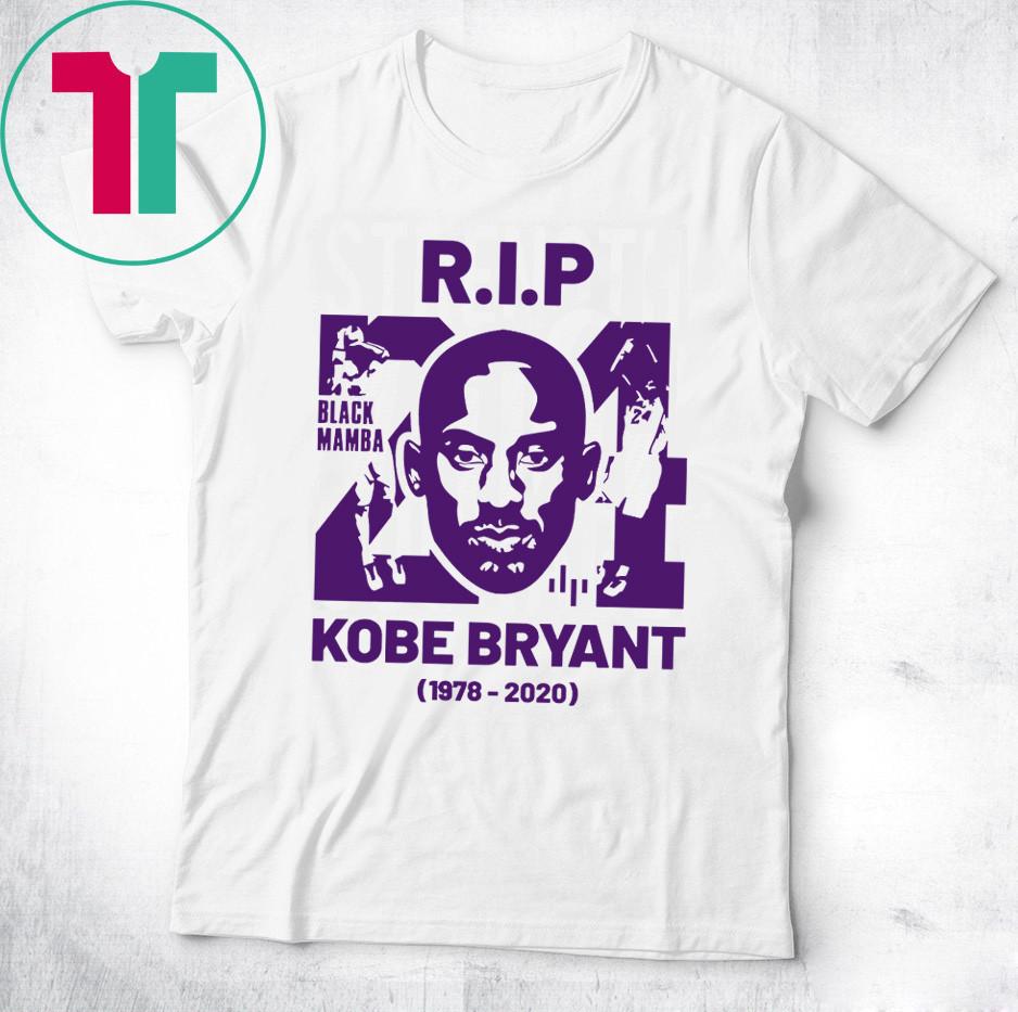 RIP Kobe Bryant Black Mamba Shirt