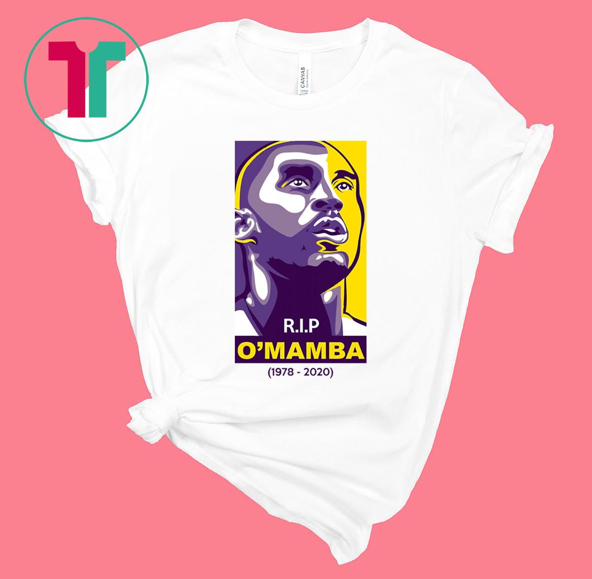 RIP Kobe Bryant OMamba 1978 2020 Shirt