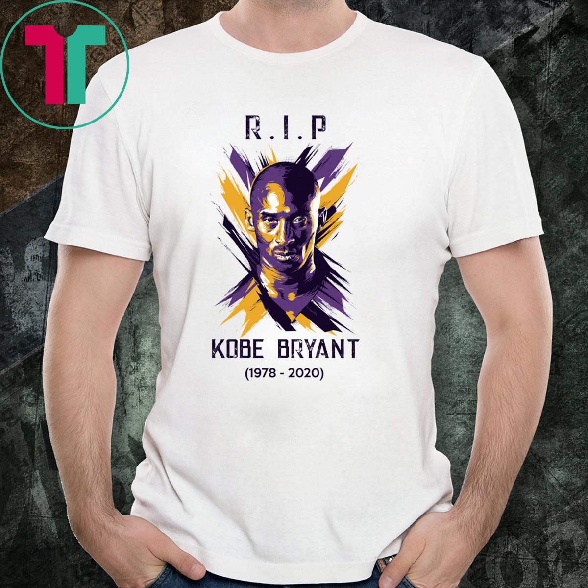 RIP Kobe Bryant T-Shirt Limited Eiditon