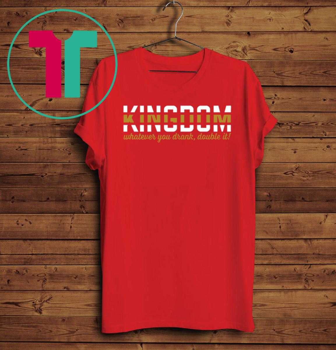KC Chiefs Kingdom Shirt