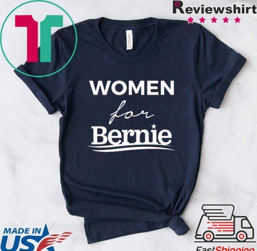 Women For Bernie Tshirt