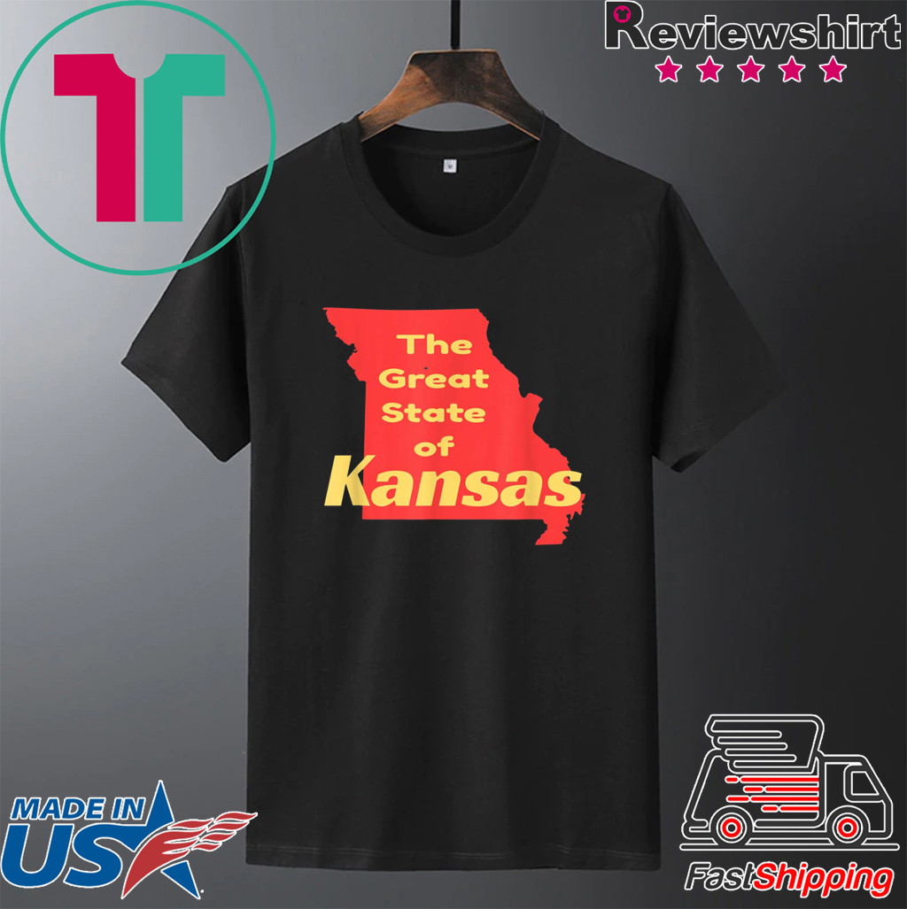 Great State of Kansas Novelty T-Shirt
