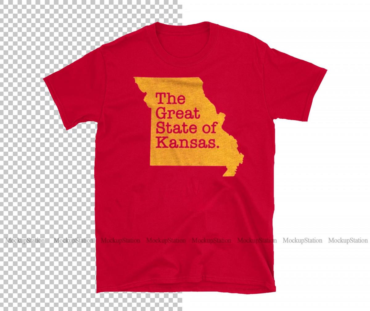 The Great State Of Kansas City Chiefs Super Bowl LIV Shirt