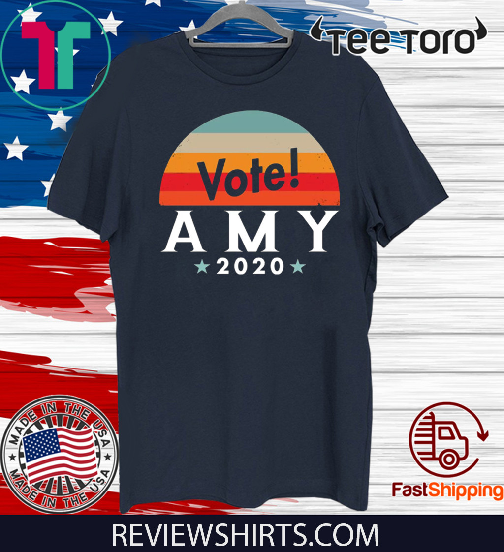 Vote Amy Klobuchar 2020 Shirt