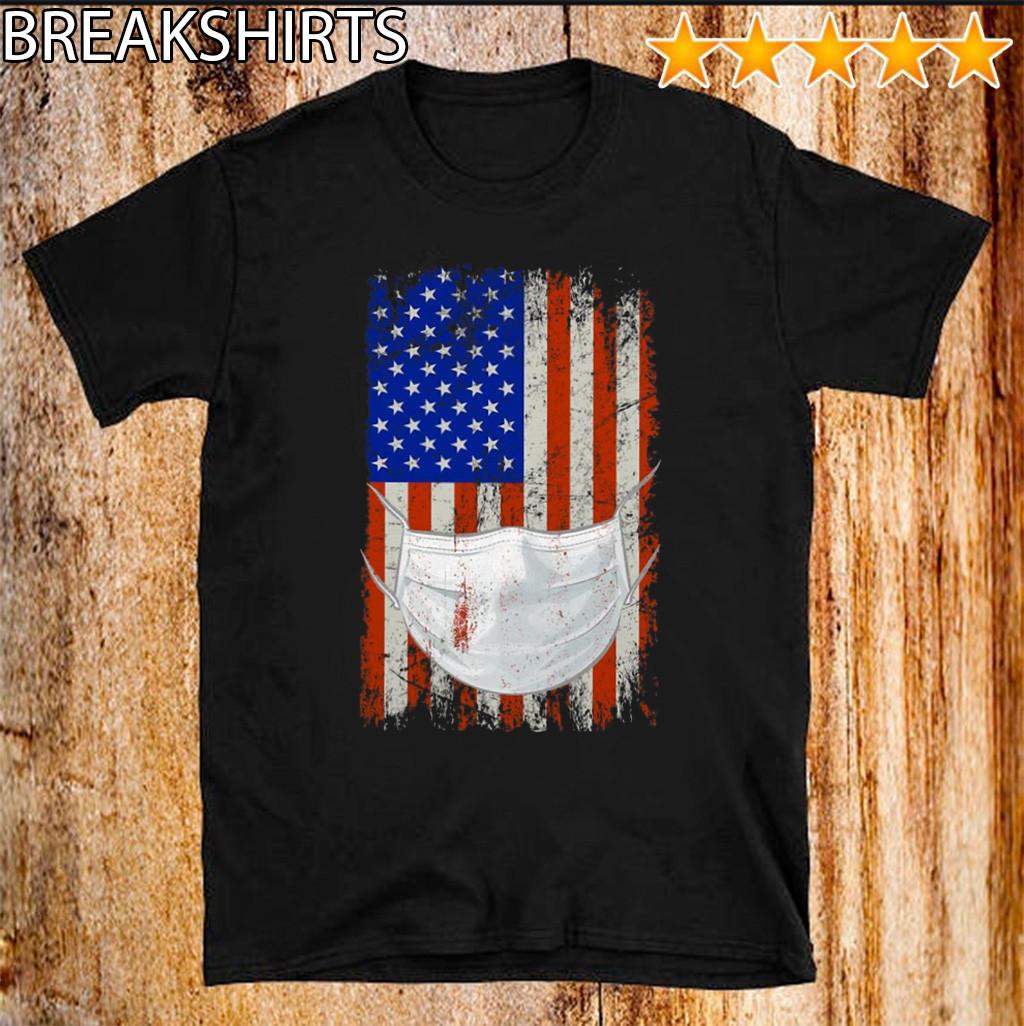 American flag Quarantined Shirt T-Shirt
