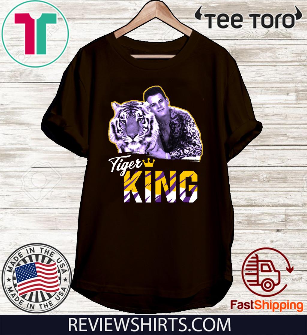 Joe Exotic Tigers King 2020 T-Shirt