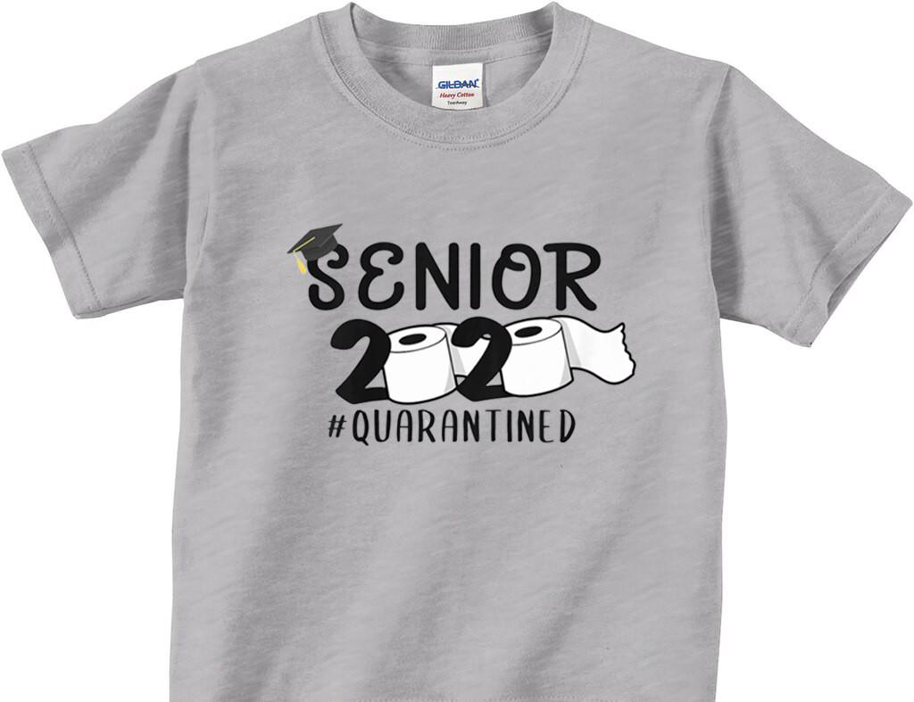 Senior 2020 Quarantined Toilet Paper Trendy Shirt