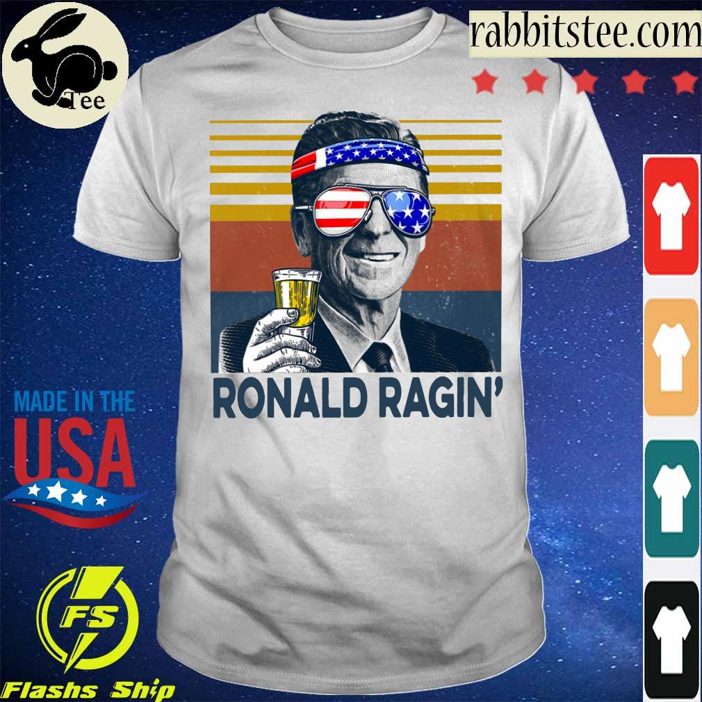 Ronald Ragin drink beer happy the 4th of july vintage shirt