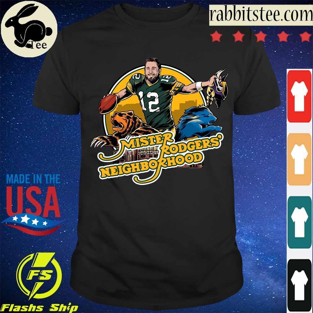 Aaron Rodgers Mister Rogers' Neighborhood shirt