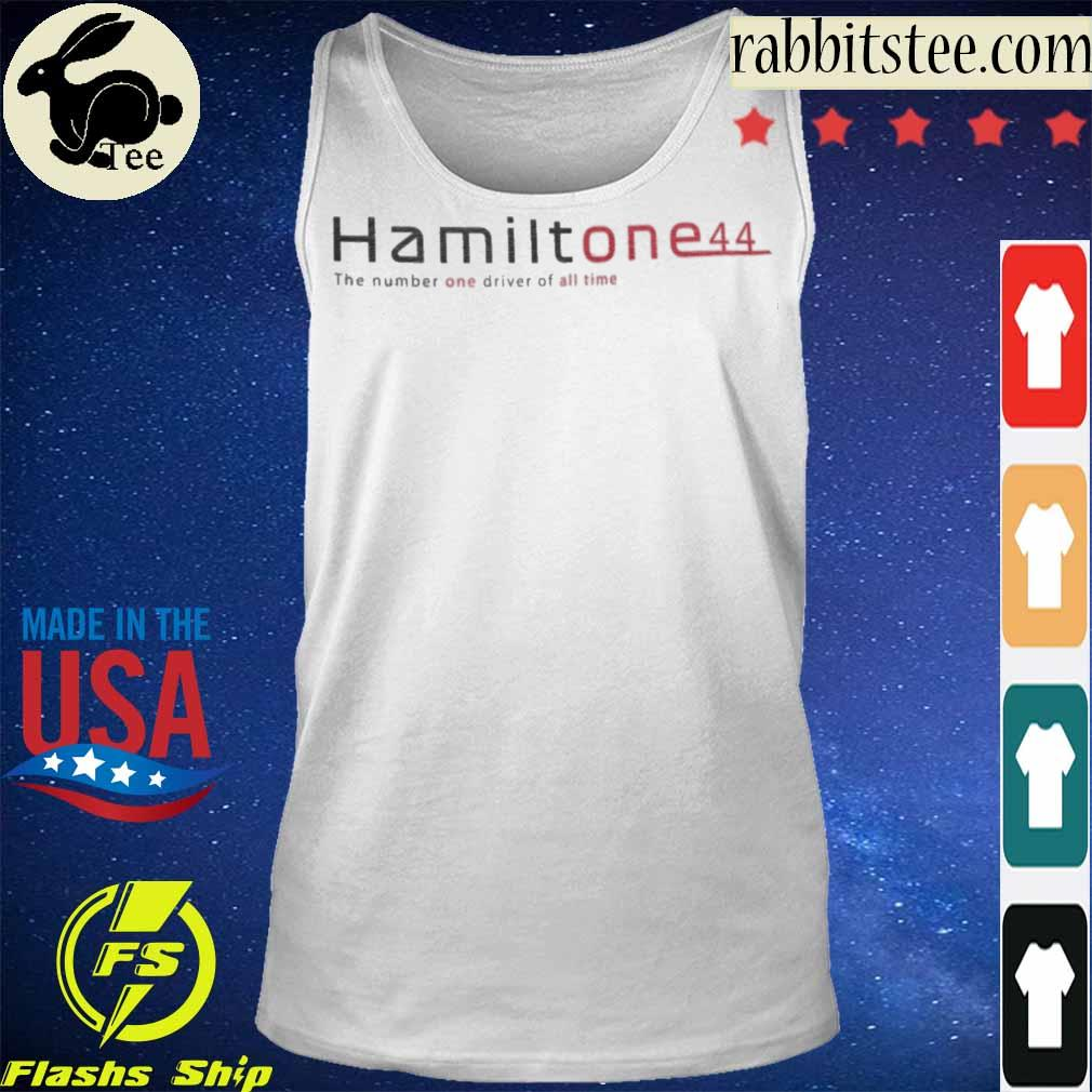 Hamilton e44 the number one driver of all time s Tanktop