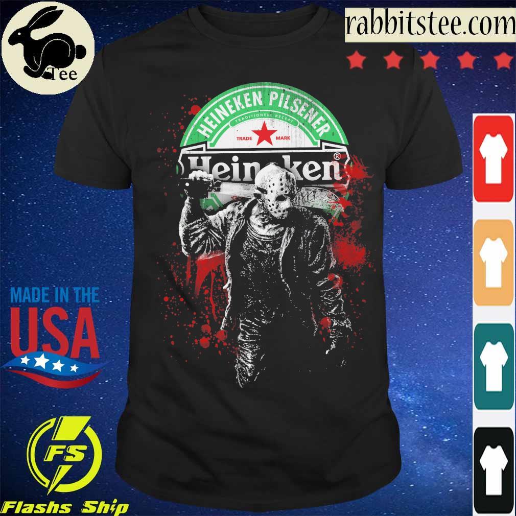 Jason Voorhees Heineken Pilsener shirt