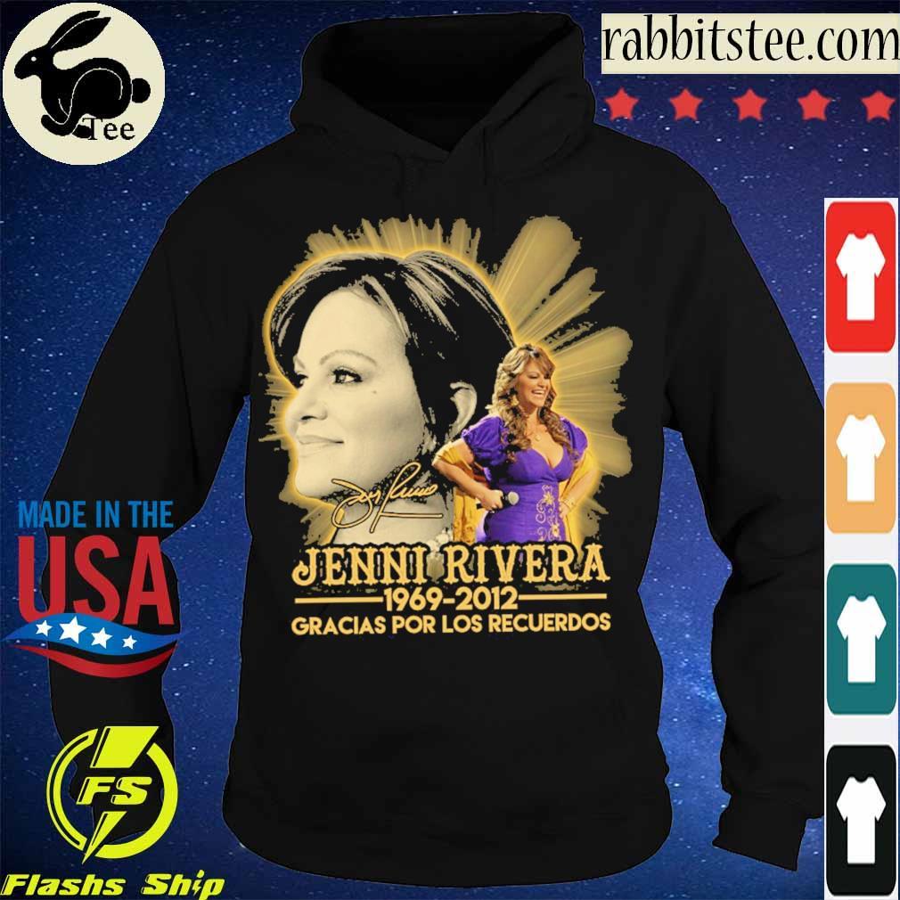 Jenni Rivera 1969 2012 Gracias por los recuerdos signature s Hoodie