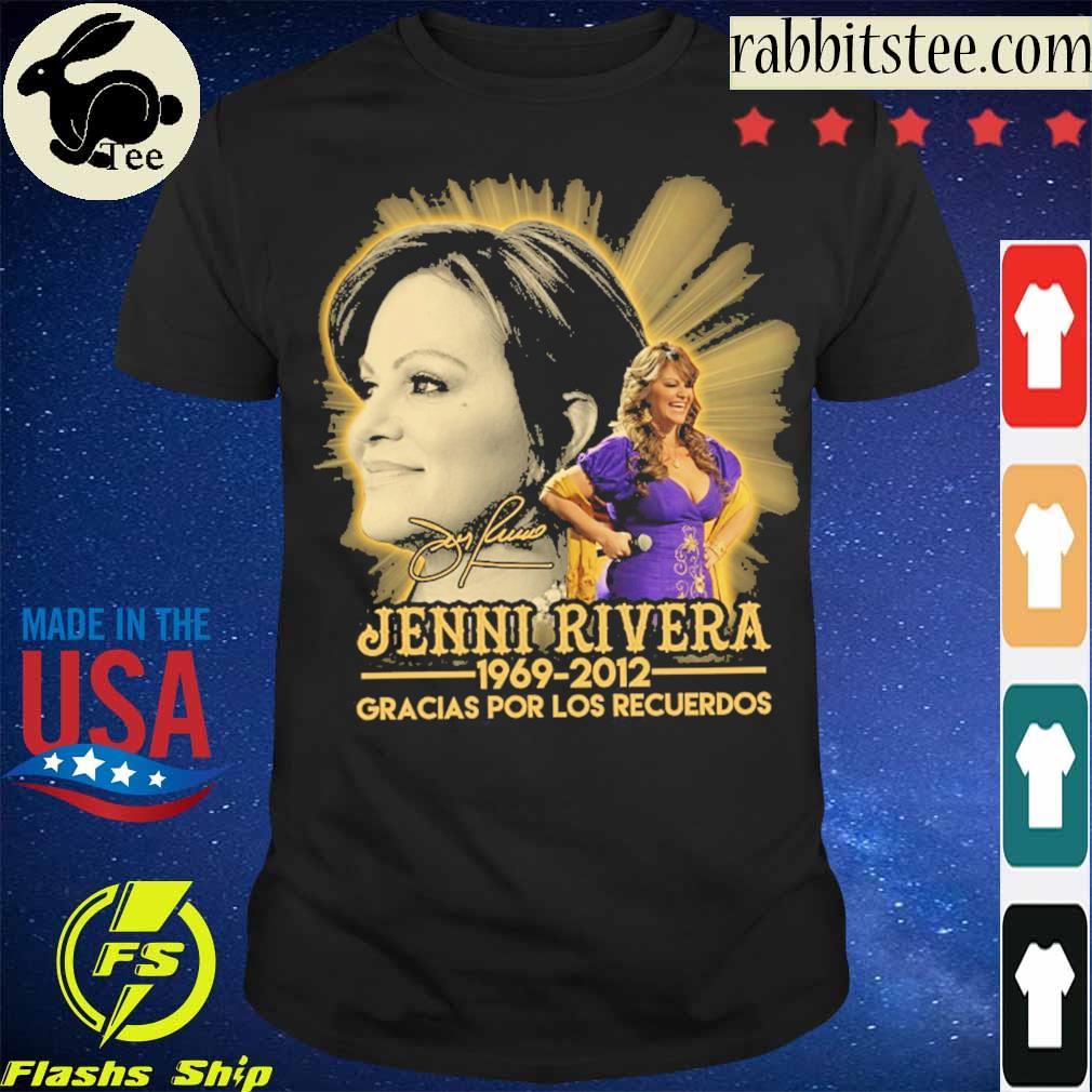 Jenni Rivera 1969 2012 Gracias por los recuerdos signature shirt