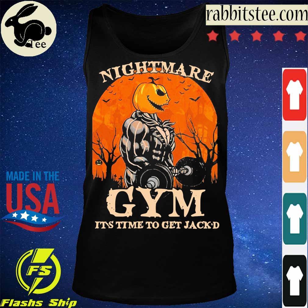 Skellington Nightmare Gym it's time to get Jack'd Halloween s Tanktop