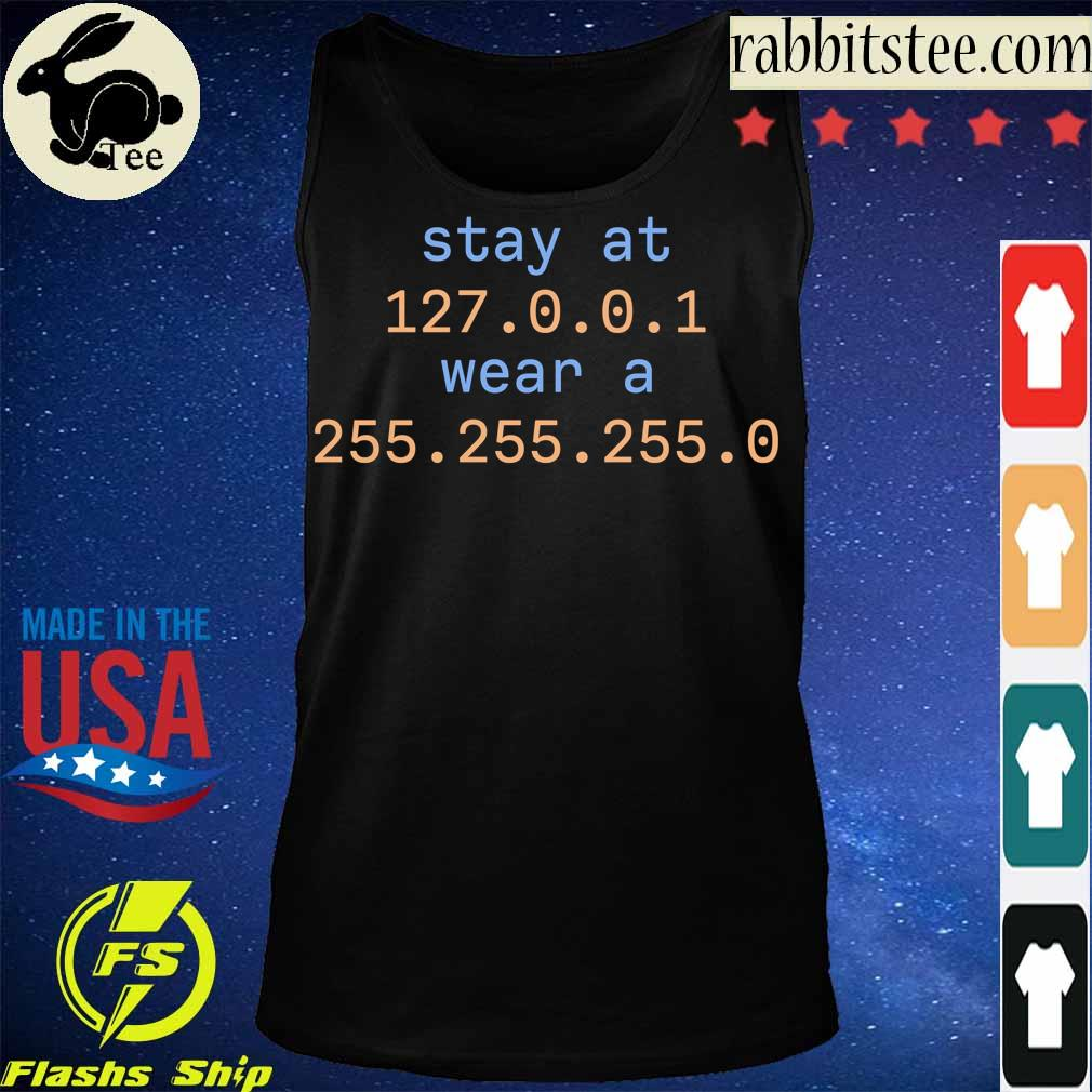 Stay at 127 0 0 1 wear a 255 255 255 0 s Tanktop