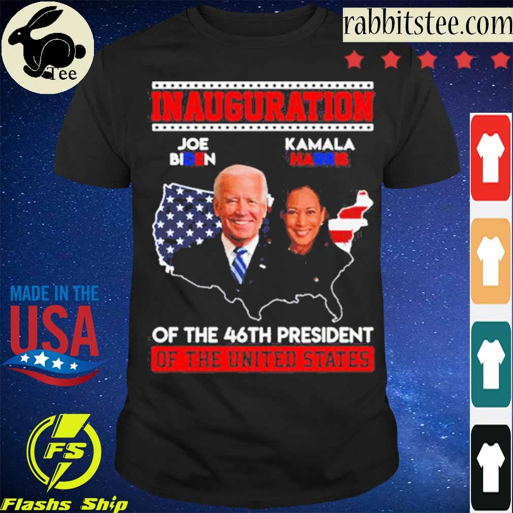 Joe Biden Kamala Harris Inauguration of the 46th president of the United States january 20th 2021 shirt