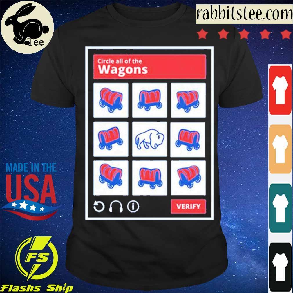 Official Circle All Of The Wagons Buffalo Bills Shirt