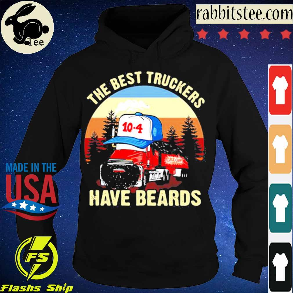 Trucker The Best Truckers Have Beards s Hoodie